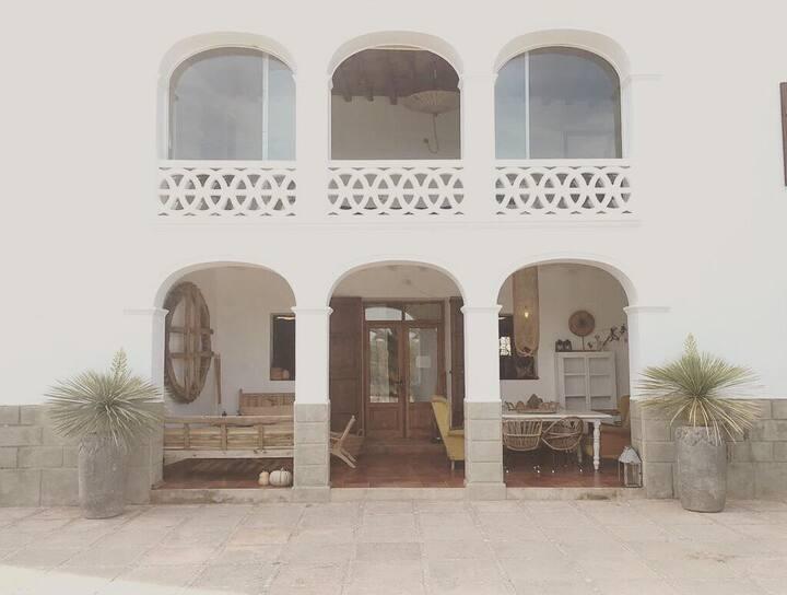 stunning original main house of a huge finca