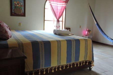 Recamara en Casa de Huatulco