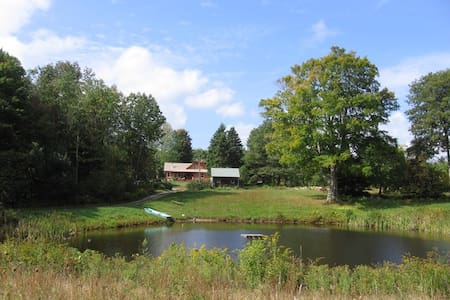 Secluded 1750's home on 46 acres - Glocester - House