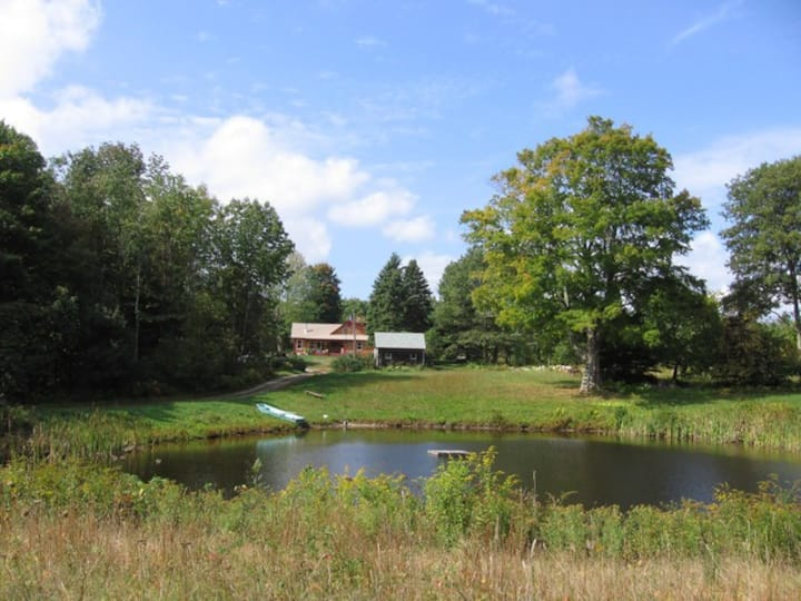 Secluded 1750's home on 46 acres