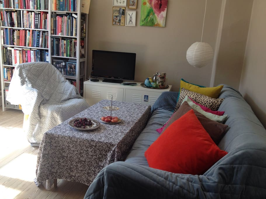 Living room - I recommend the soft cushions