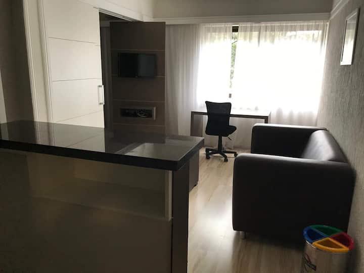 Apartamento no coração do Itaim bibi com garagem
