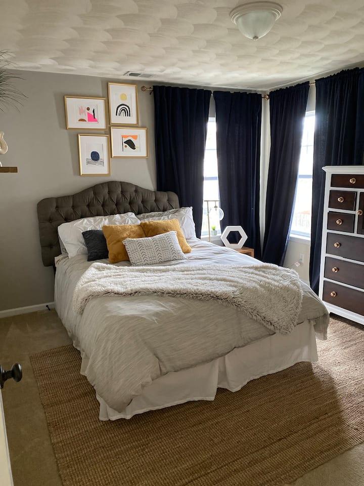 Cozy one Bedroom in a quiet neighborhood. Room1