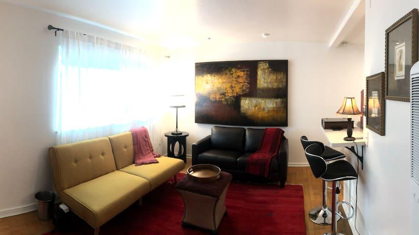 Living room  w/futon