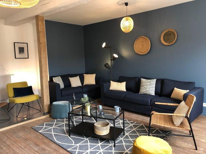 TEYO -Maison meublée 14 pers-Proche Roissy (60810)