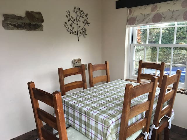 Our lovely dining room - with lovely views