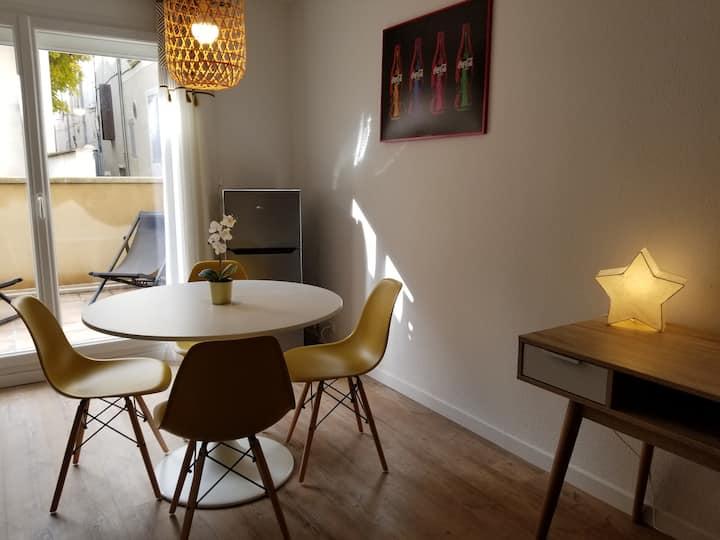 Studio cosy en centre ville