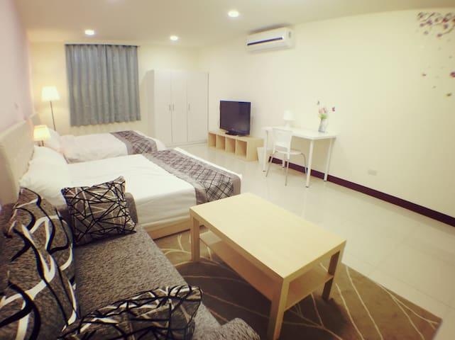 Puli Shine Nest - Suite Quad Room