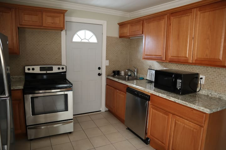 Guests have access to all common areas including the newly remodeled kitchen.