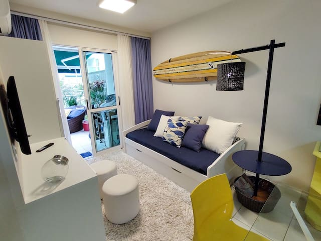 Lounge compartilhado / Sala de TV