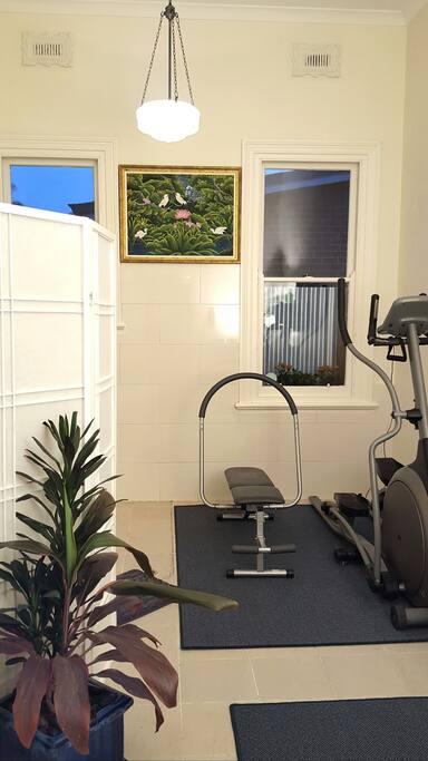 Bathroom / Gym