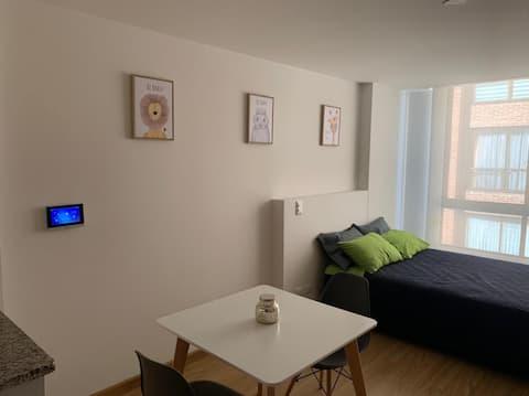 Modern new studio in Galerías!