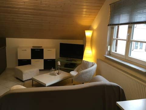 Separat leilighet i Odenwald i nærheten av Heidelberg