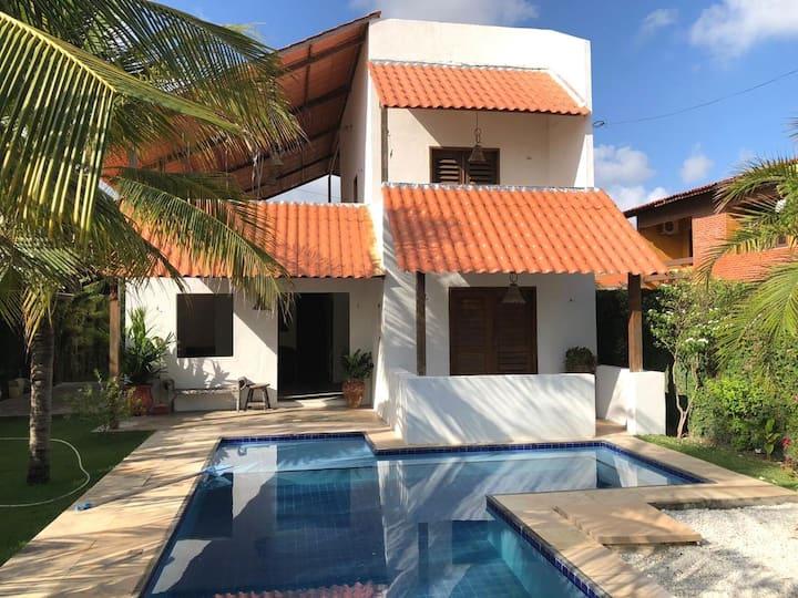 Charming cottage with pool Casa Prainha Fortaleza