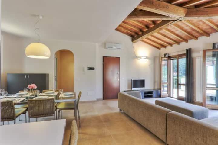 Exclusive villa with sea view - Rio nell'Elba: Villetta Natura Casa C