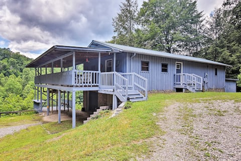 Private Pet-Friendly Castlewood Cabin w/Pond Views