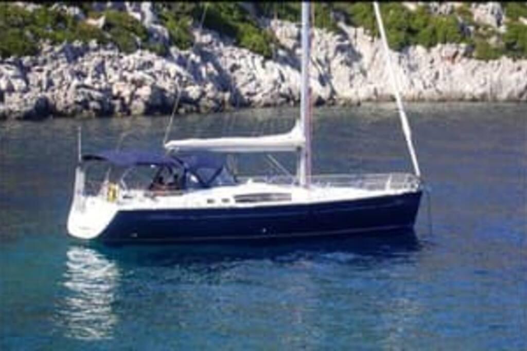 la mia bella barca! :):)