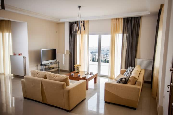 Private Villa with Amazing View near Corinth