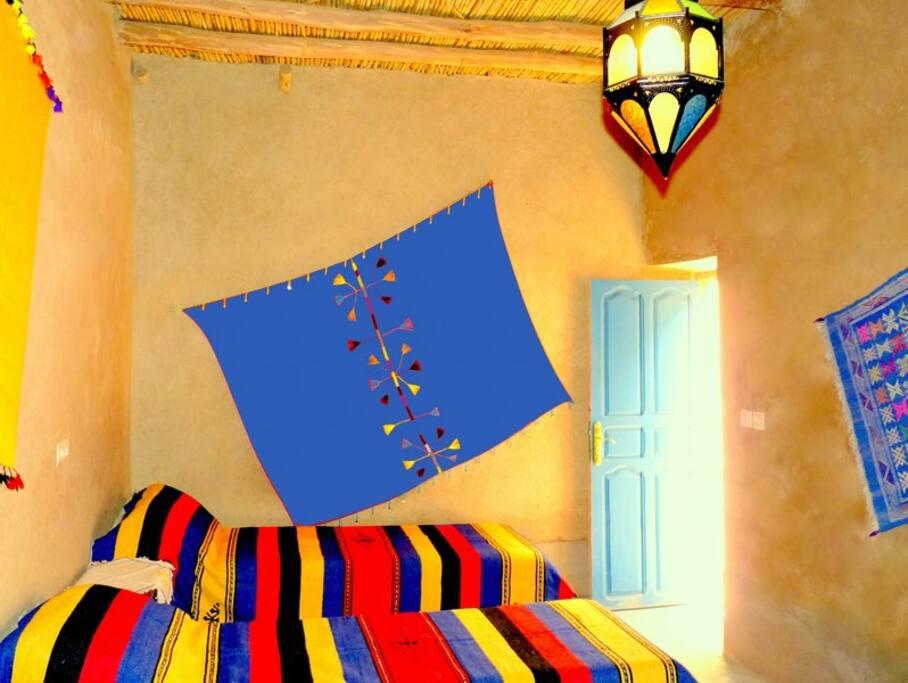 Chambre familiale - 4 lits simples