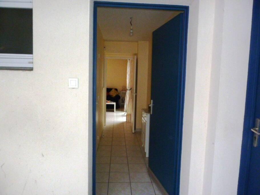 L'entrée de l'appartement n°11