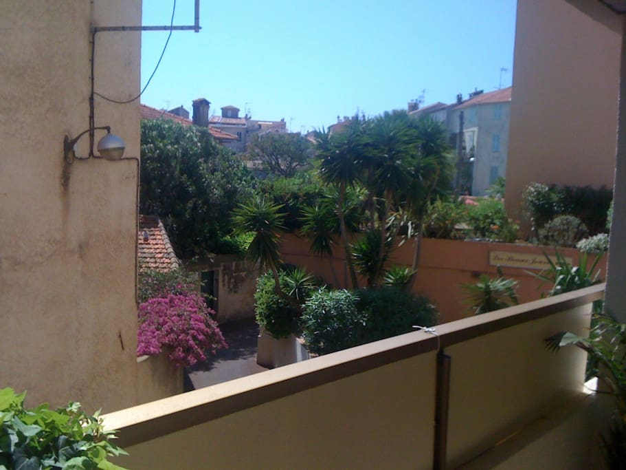 south facing :) enjoy the morning sun on the balcony with a tea and a crisp cote d provence rose and forage in the afternoon