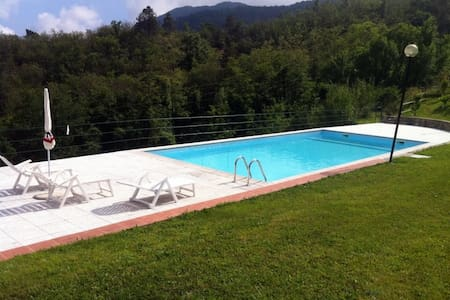 BETULLA apartment whit swimming pool - Carro - Apartment