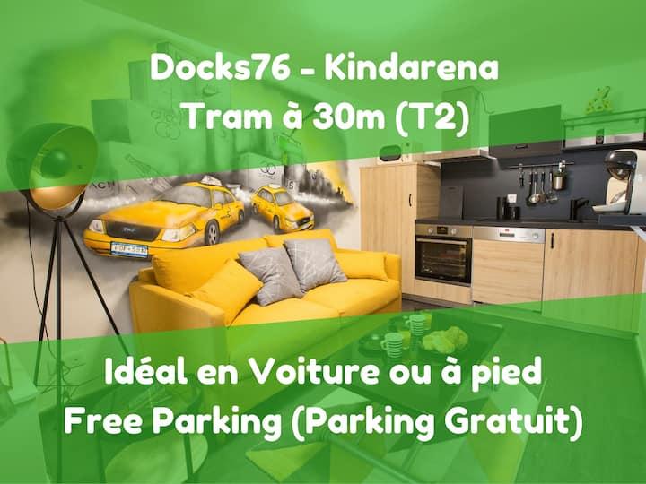 Kindarena, Les Docks76 : Le Cottage Pop