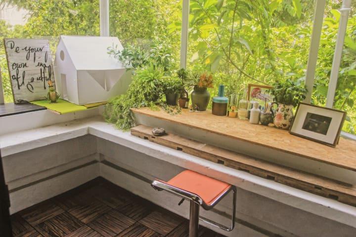 新房特惠!阳光花园艺术客栈;一室一厅大套房;5分钟直达OCT创意园