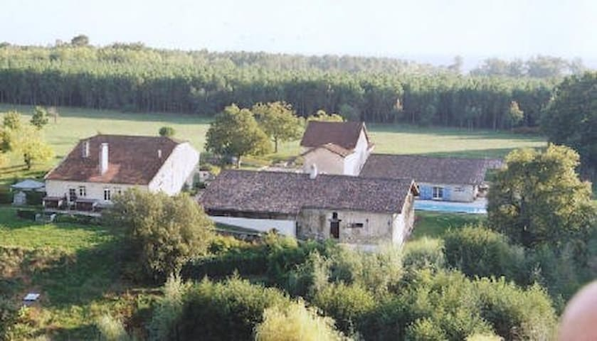 B&B  Gironde et Landes, 3chambres - Bernos-Beaulac - Bed & Breakfast