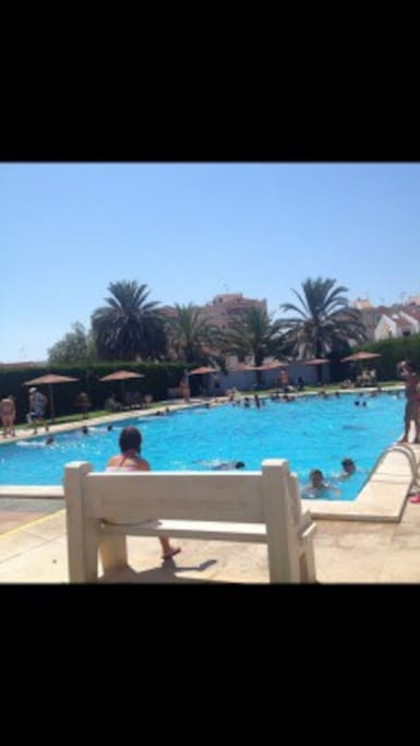 One of three communal pools, the nearest is only 50 m from the house.