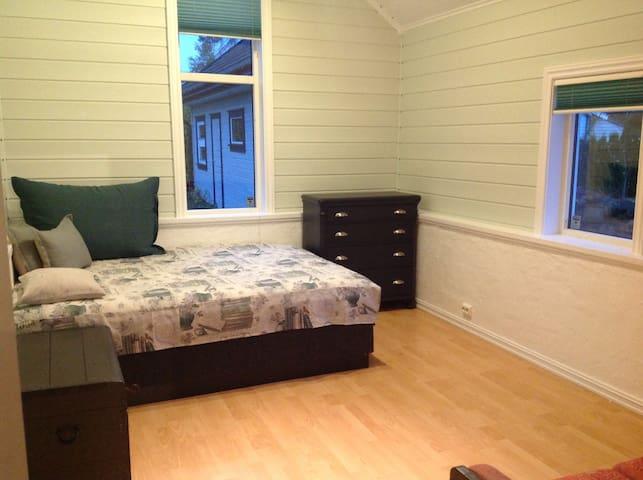 Eget bad & rom m/ dobbeltseng for 2 - Nøtterøy - Appartement