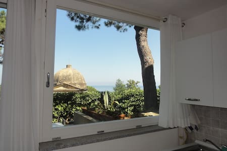 Apartment sea view and garden - Marciana Marina