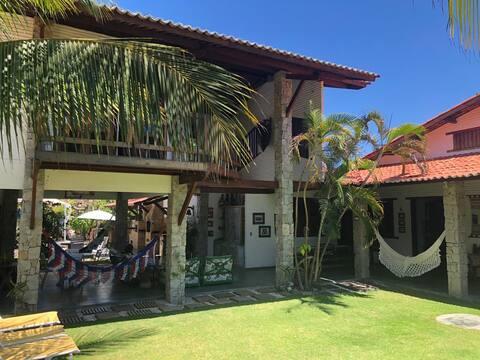 Casa de Praia no Uruaú - Refúgio Verde ao Mar!