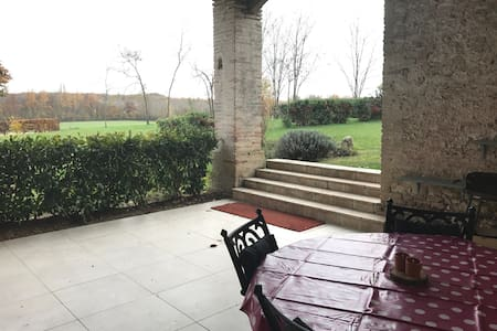 Great chateau apartment - Castelnau-Montratier