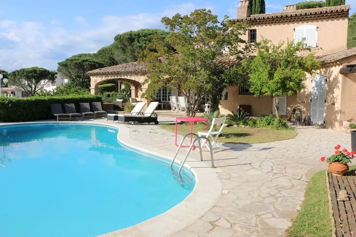 Villa with swimming-pool - 8 people, Côte d'Azur