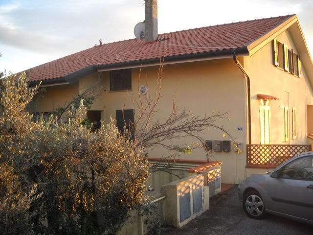 Sea view apartament with pool - Montescudaio - Apartament