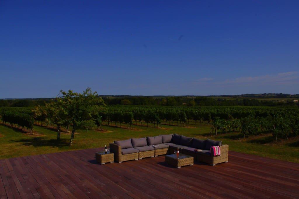 Bordeaux vineyard b b nr st emilion chambres d 39 h tes for Chambre d hote saint emilion