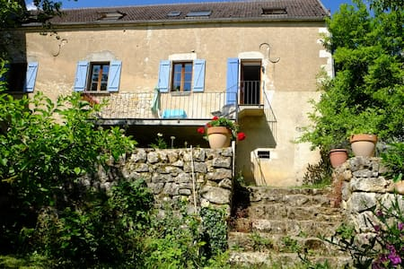 Charming riverside house - Merry-sur-Yonne - Casa
