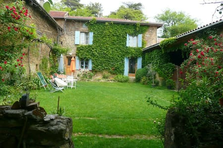 Belle maison Dromoise à 1h de Lyon - Saint-Martin-d'Août