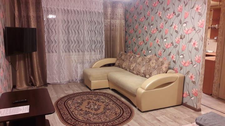 Отличная 1 комнатная квартира на Олимпийской