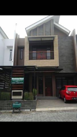 New Modern home - Garut  - Huis