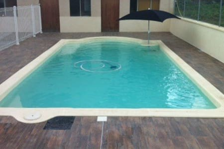 Chambre piémont pyrénéen piscine - Sepx
