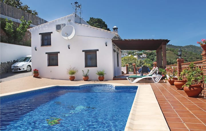 Awesome home in Frigiliana with WiFi and 1 Bedrooms