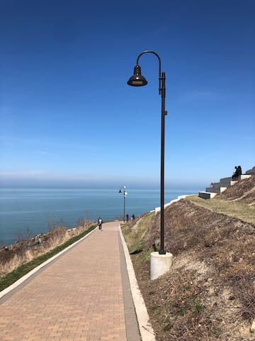 Lakewood Park, located less than a quarter mile from the house.