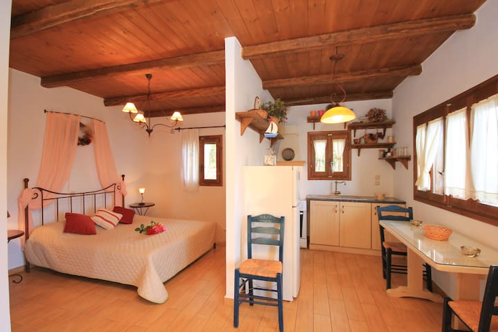 Deluxe Studio close to beaches of Lefkada