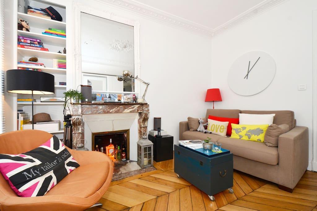 sous le soleil parisien op ra appartements louer paris le de france france. Black Bedroom Furniture Sets. Home Design Ideas