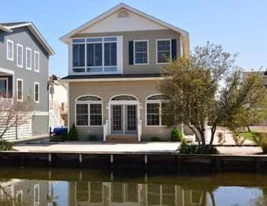 Bethany Beach Canal Front Home Sleeps 12 - Bethany Beach - Casa