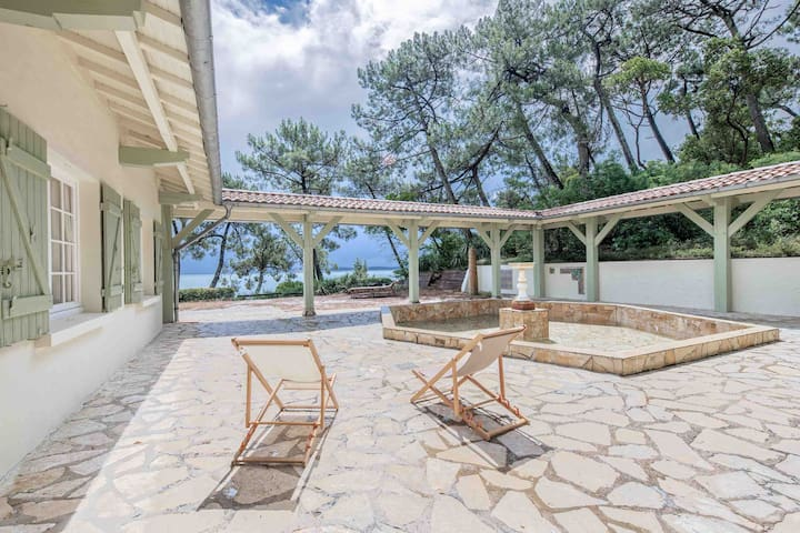 Villa 1ère ligne Cap Ferret - Demeure Du Siècle