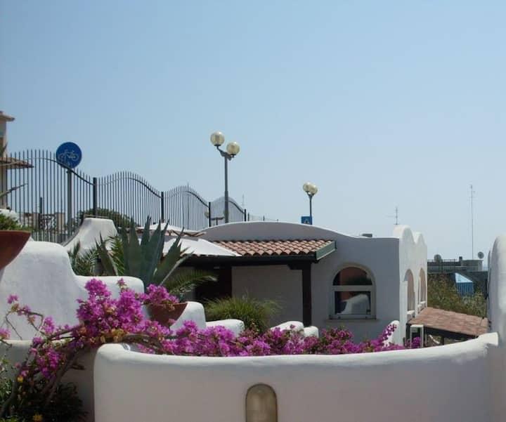 Monolocale fronte mare , terrazzo (Anemone)