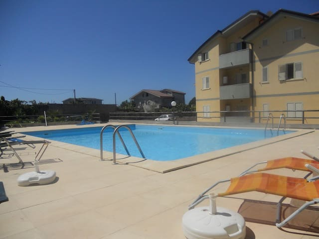 One bedroom apartment in Caulonia - Marina di Caulonia - Apartment